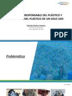 PPT MINAM - CONSUMO RESPONSABLE DEL PLÁSTICO Y REDUCCIÓN DEL PLÁSTICO DE UN SOLO USO (05.09.18)