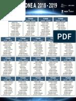Serie C 2018-2019 Calendario  Girone A