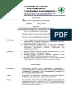 8.1.2.1 Sk Permintaan Pemeriksaan, Penerimaan, Pengambilan Dan Penyimpanan Spesimen