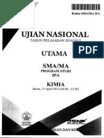 Naskah Soal UN Kimia SMA 2015 Paket 1.pdf