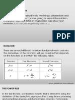 Basic Differentiation Marquez