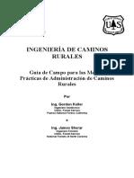 Ingenieria de Caminos Rurales