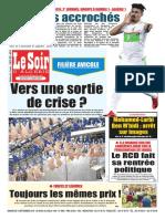 Journal Le Soir Dalgerie Du 09.09.2018