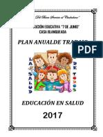 Plan de Educación en Salud 2017
