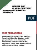 SUPPLY MAKSIMAL ALAT PENUNJANG MEDIS (RONTGEN.pptx