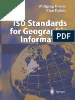2004 Book ISOStandardsForGeographicInfor