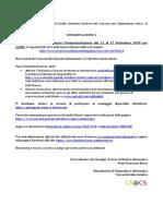 2018 09 - Lettera Benvenuto e Immatricolazioni - Informatica @DeMaCS Unical