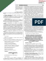 Decreto legislativo que incorpora el delito de acoso sexual al Código Penal