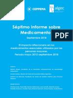 Informe de precios de medicamentos