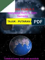 Putaran Dan Peredaran Bumi