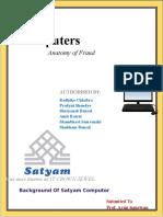 Satyam Computer Scam
