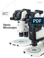 Stereo Microscopes 2CE ENAH 3