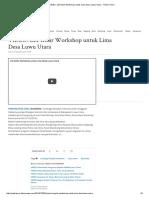 VIDEO_ LEI Gelar Workshop untuk Lima Desa Luwu Utara - Tribun Timur.pdf