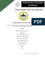Analisis Para Desarrollo de Manual de Mantenimiento Para Control Numerico Computarizado en El Instituto Tecnologico de Los Mochis