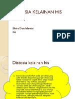 DISTOSIA KELAINAN HIS.pptx