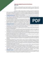 Diccionario de Administración Estratégica