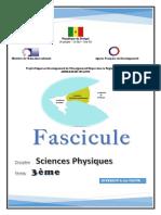 Fascicule Adem Sciences Physiques 3e senegal