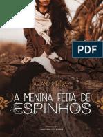 A Menina Feita de Espinhos - Fabiane Ribeiro