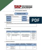 Plan de Clases 2015 Diseño de Plantas