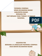 PRESENTASI POSYANDU CEMPAKA DESA BERAN (1).ppt