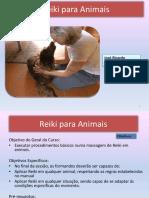 Reiki para animais