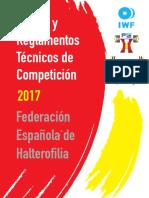 Reglamento Técnico IWF 2017-2020 PDF (18!03!2017)