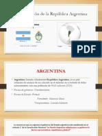 Organizacion Politica Del Estado Argentino