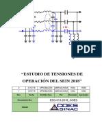 Estudio de Tensiones de Operación 2018
