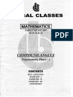 37965558 Bansal Classes Mathematics Study Material for IIT JEE