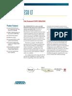 Conversor Modem Adtran Esu_lt_data_sheet
