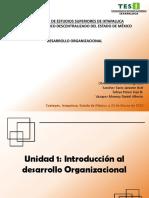 Unidad 1 Introducción Al Desarrollo Organizacional