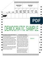 Democratic Sample Ballot