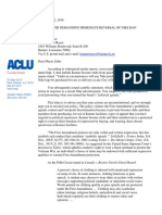 Open Letter to Kenner Mayor from the ACLU