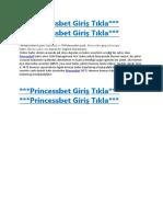 83Princessbet Giriş - 83 Princessbet Yeni Giriş - 83Princessbet.com