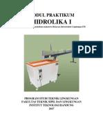 Modul Praktikum Mekanika Fluida 1 2017 Revisi Mod 4