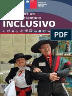 Volante Informativo Recomendaciones Para Un 18 de Septiembre Inclusivo