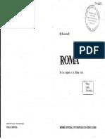 Roma ItaliaPrimitiva Rostovtzeff (Arrastrado)