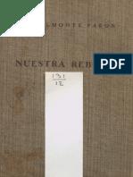Justificativos de nuestra rebelión - Belmonte Pabon, Elías