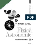 XII_Fizica - Astronomie (a. 2017, In Limba Romana)