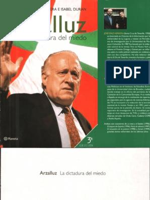 Arzalluz Díaz Del josé Herrera La Dictadura Miedo pdf JK1lFTc