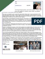 July 2012 Good News Letter