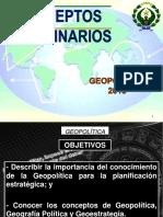 Clase 01 Conceptos Doctrinarios Geopolitica Geografia Politica Geoestrategia