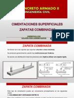 CLASE 17  ZAPATAS COMBINADAS REV 1.pptx