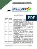 Actualización normativa al 06 de Septiembre de 2018