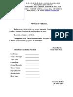 Proces-Verbal de Angajare PAROHIE 2