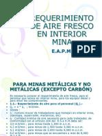229914986 Requerimiento de Aire Fresco en Interior Mina