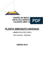 Diseño de Mezcla Amezquita Naranjo