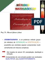 metodos Cromatograficos - Introdução