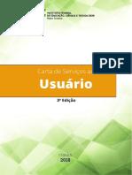 Carta Serviços ao Usuário - IFMT - 2018