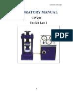 67406229 Fluid Mechanics Lab Manual